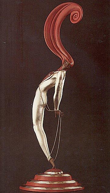 Erte Sculpture - L