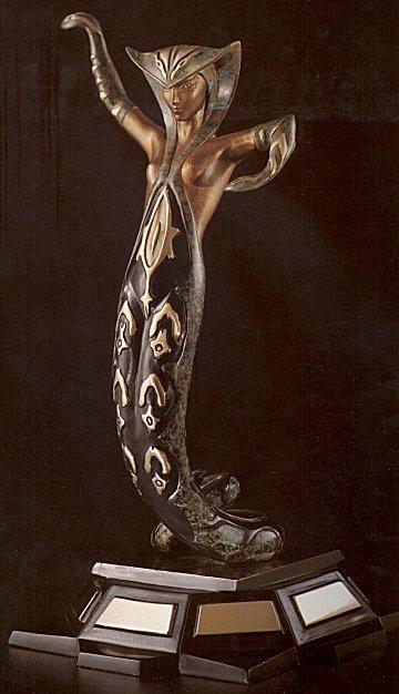 Erte Sculpture - La Jalousie