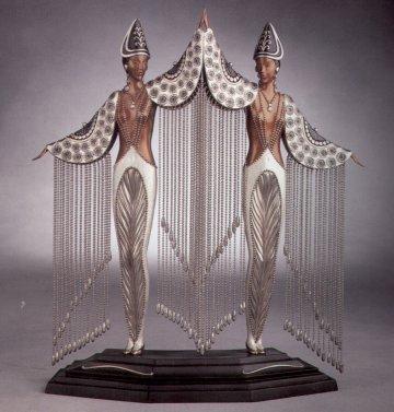Erte Sculpture - Les Bijoux de perles