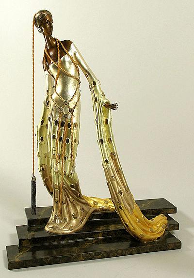Erte Sculpture - Melisande