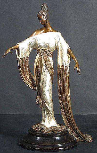 Erte Sculpture - Negligee