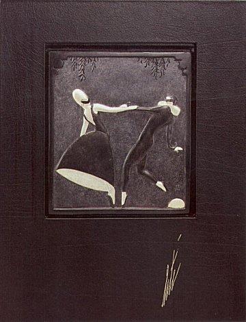 Erte Sculpture - Pas de Deux, (Bas Relief)