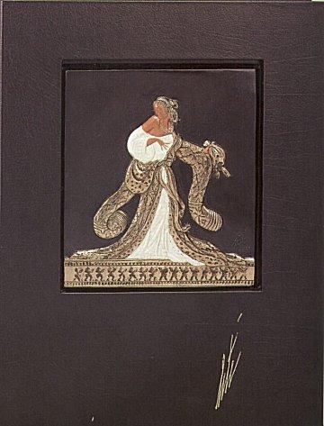 Erte Sculpture - Rigoletto, (Bas Relief)