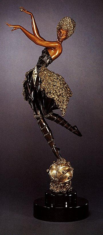 Erte Sculpture - Rose Dancer