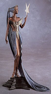 Erte Sculpture - Silver Patrons Collection
