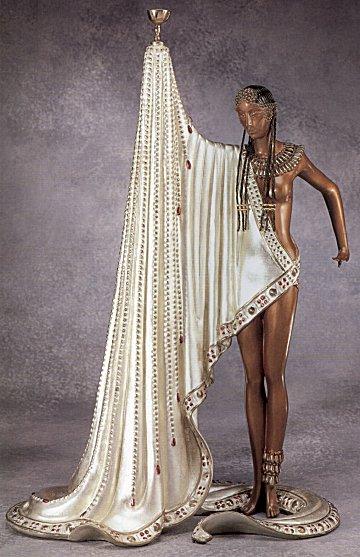 Erte Sculpture - The Slave