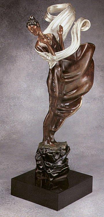 Erte Sculpture - Summer Breeze