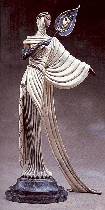 Erte Sculpture - Tanagra