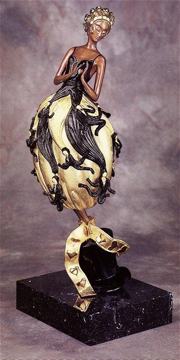 Erte Sculpture - Tuxedo