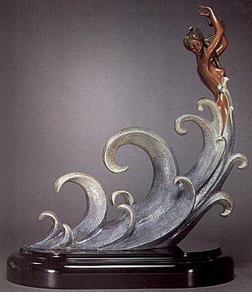 Erte Sculpture - The Wave