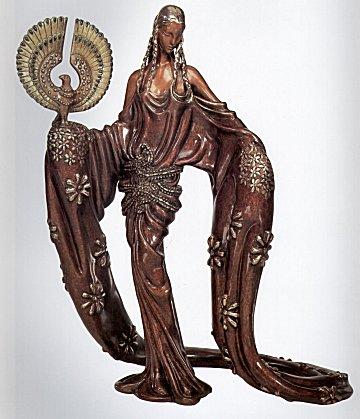 Erte Sculpture - Wisdom