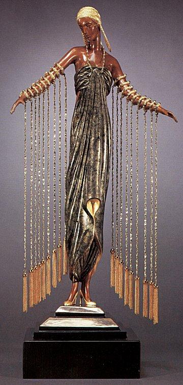 Erte Sculpture - Zobeide