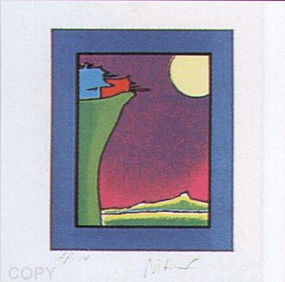 Peter Max Print - Cliff Dweller
