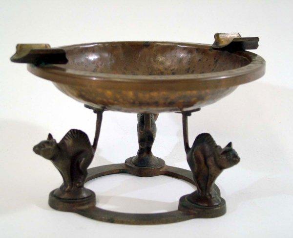 Carl Sorensen - Cat Pedestal Ashtray