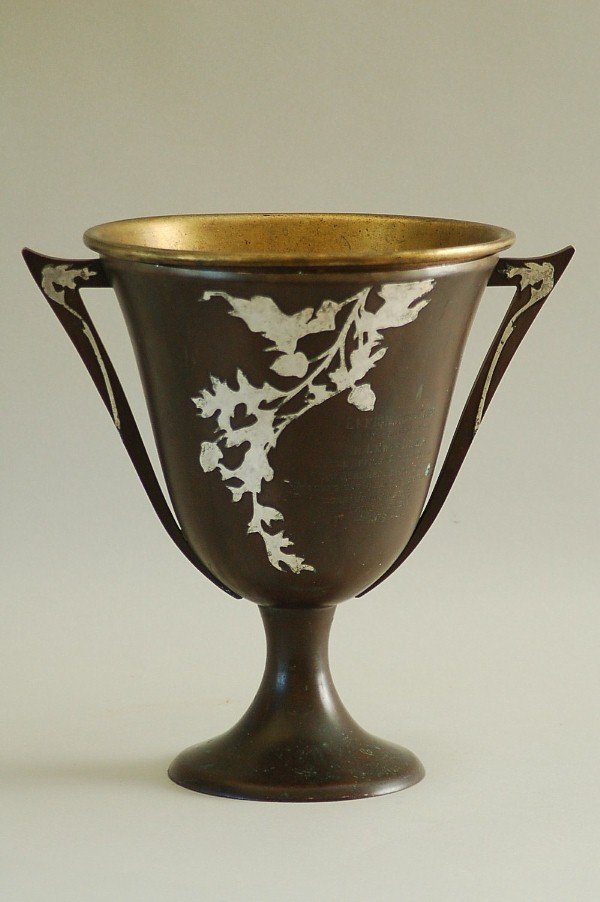 Arts and Crafts Metalwork - Heintz - Trophy Cup