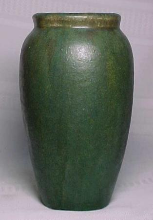 Fulper Pottery - Basic Vase - Green, Dark