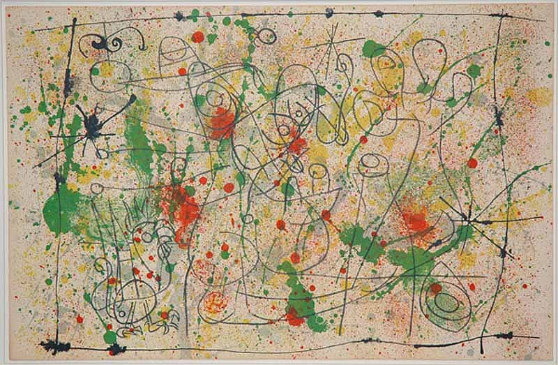 Joan Miro Print - Ubu Roi - I Naissance d