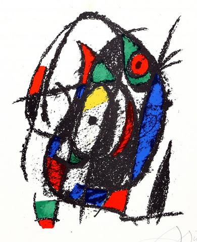 Joan Miro Print - Lithographs II (M 1044)