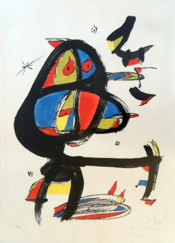 Joan Miro Print - Cap I Cua