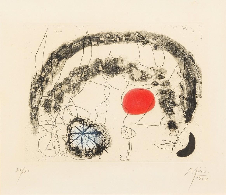 Joan Miro Print - Series III, Plate 5