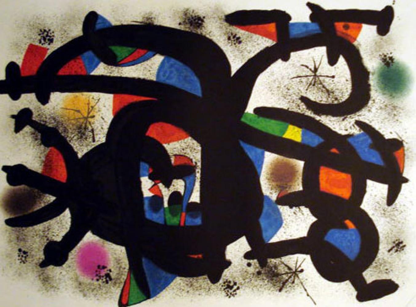 Joan Miro Print - Caliu Catala