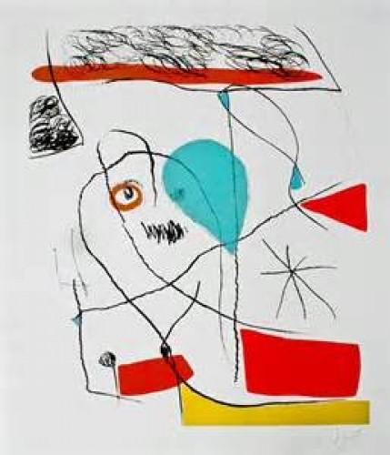 Joan Miro Print - El Pi de Formentor #2