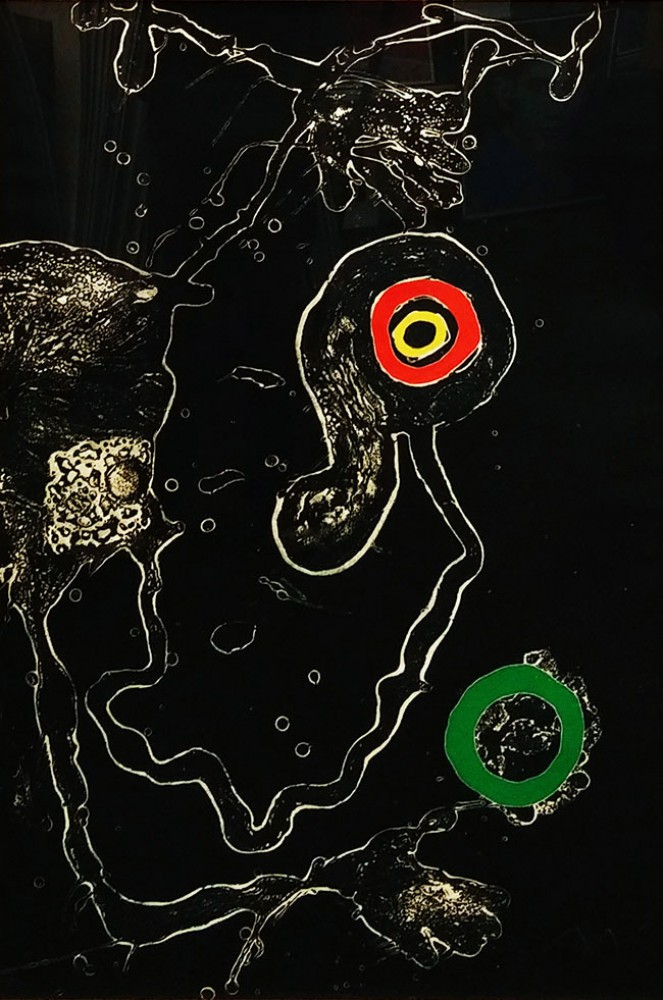 Joan Miro Print - Untitled (From Barcelona Suite - M 598)