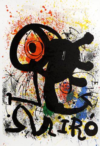 Joan Miro Print - Sculpture Et Ceramics