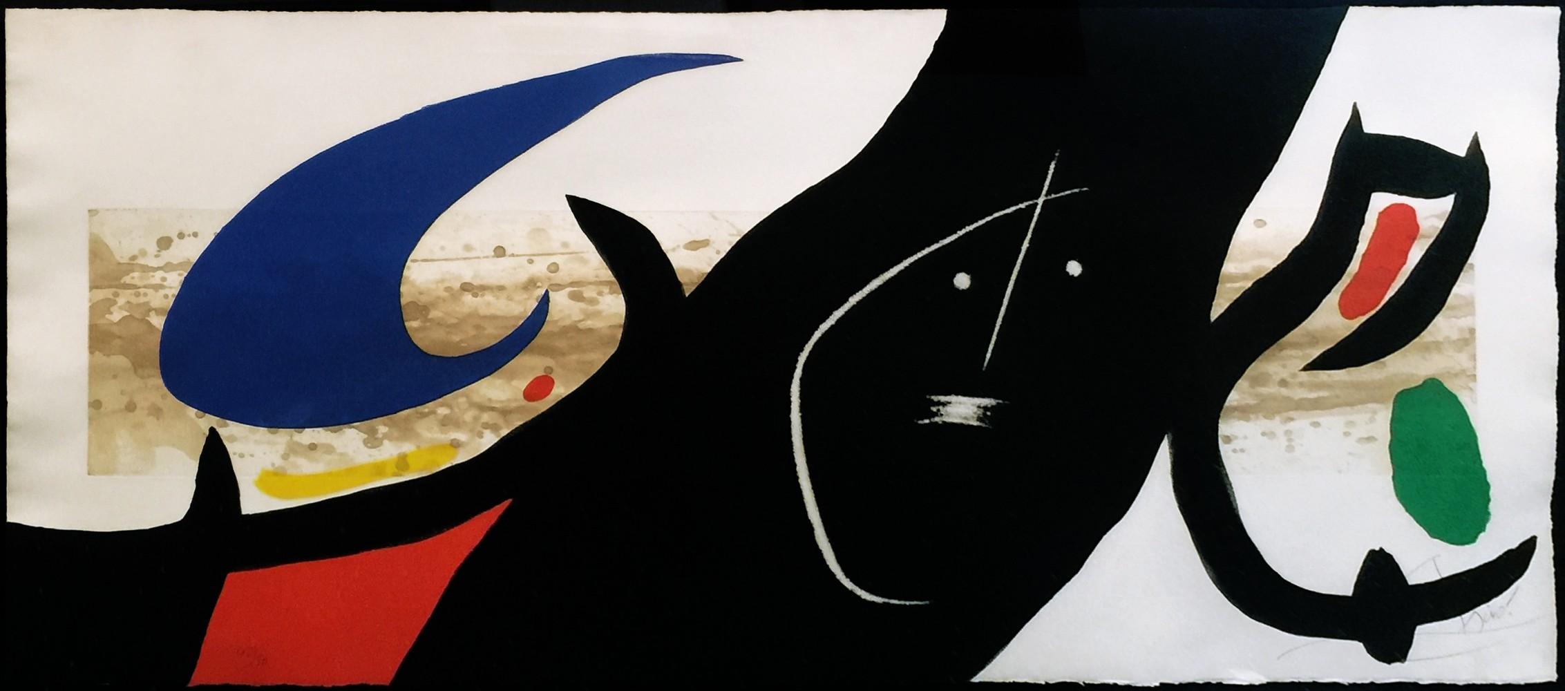 Joan Miro Print - Maja Negra