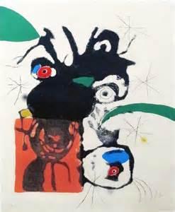 Joan Miro Print - Espiru, Plate #5