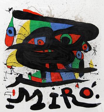 Joan Miro Print - Walker Art Center