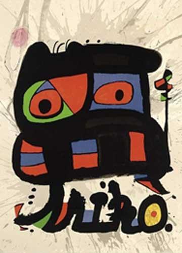 Joan Miro Print - Un Cami Compartit