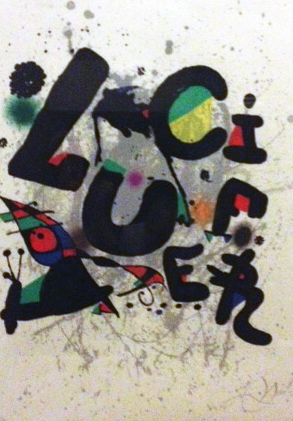 Joan Miro Print - Lucifer