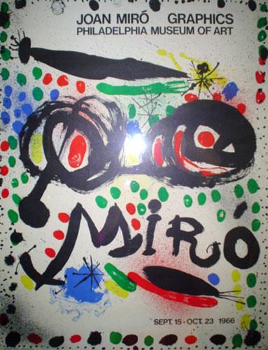 Joan Miro Print - Joan Miro Graphics Philadelphia Museum Of Art Poster