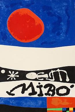 Joan Miro Print - Exposition D