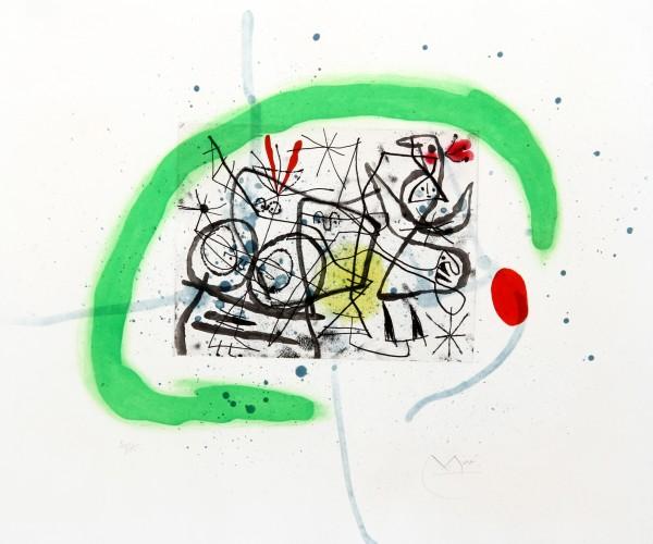 Joan Miro Print - Preparatifs D