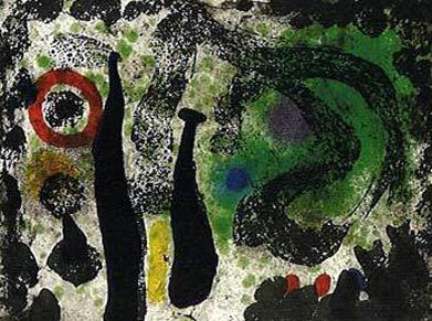 Joan Miro Print - Le Jardin De Mousse