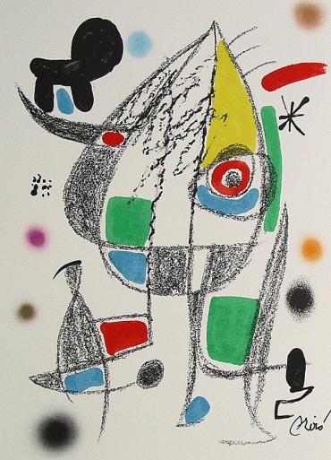 Joan Miro Print - Maravillas con Variaciones Acrosticas en El Jardin de Miro - Maravillas #20