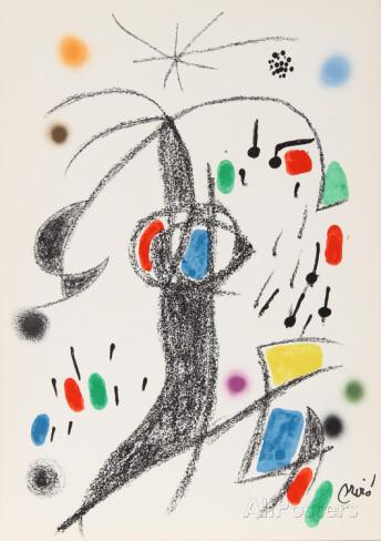Joan Miro Print - Maravillas con Variaciones Acrosticas en El Jardin de Miro - Maravillas #19
