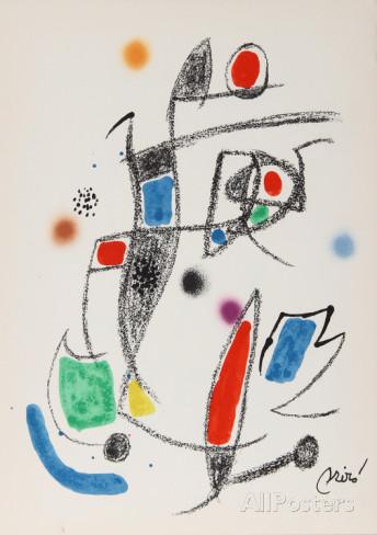 Joan Miro Print - Maravillas con Variaciones Acrosticas en El Jardin de Miro - Maravillas #10