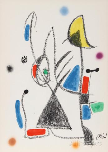 Joan Miro Print - Maravillas con Variaciones Acrosticas en El Jardin de Miro - Maravillas #16
