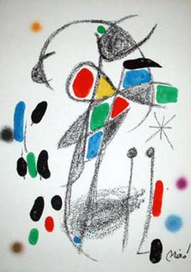Joan Miro Print - Maravillas con Variaciones Acrosticas en El Jardin de Miro - Maravillas #18
