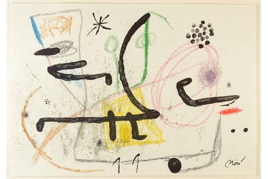 Joan Miro Print - Maravillas con Variaciones Acrosticas en El Jardin de Miro - Maravillas #9