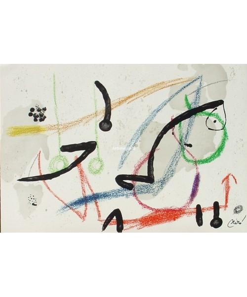 Joan Miro Print - Maravillas con Variaciones Acrosticas en El Jardin de Miro - Maravillas #7