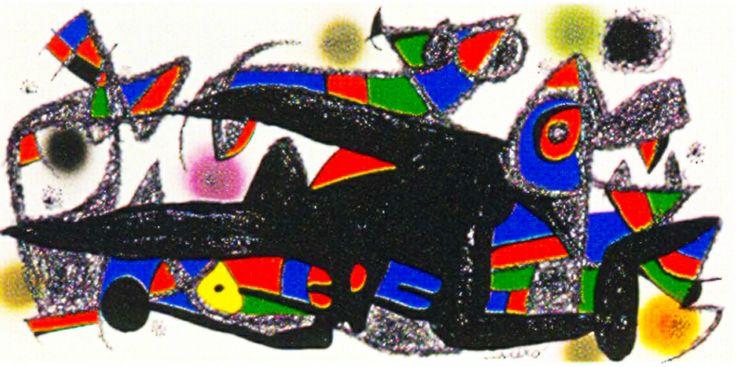 Joan Miro Print - Miro Sculptors - Denmark