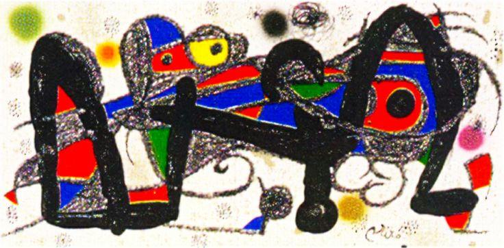 Joan Miro Print - Miro Sculptors - Portugal