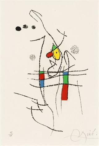 Joan Miro Print - Miranda et la Spirale - Plate #10