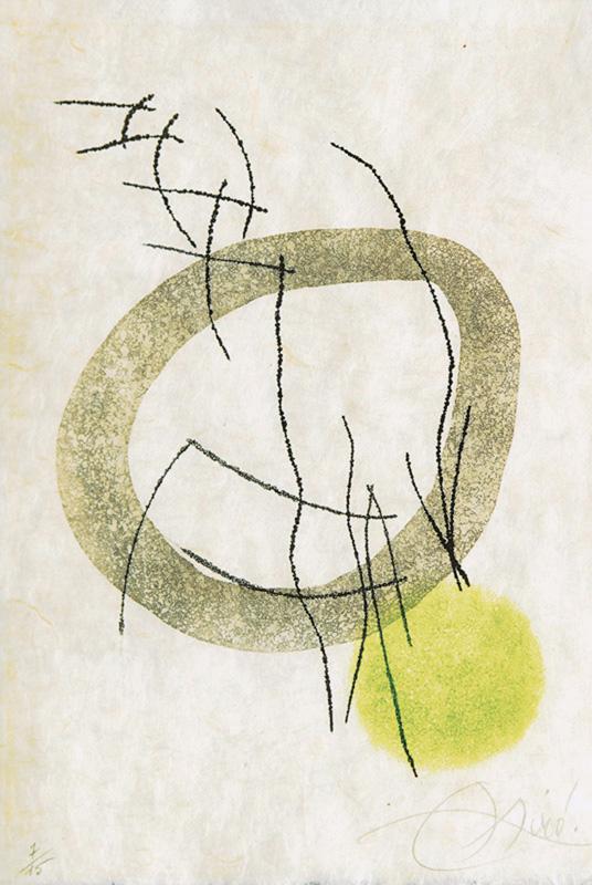 Joan Miro Print - Miranda et la Spirale - Plate #A