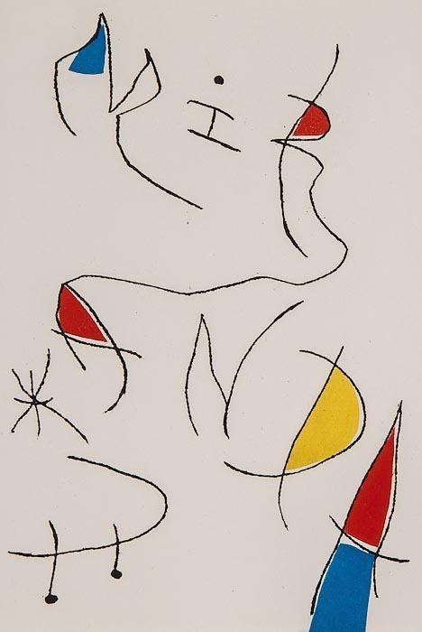Joan Miro Print - Miranda et la Spirale - Plate #B