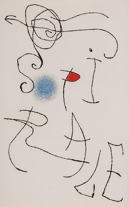 Joan Miro Print - Miranda et la Spirale - Plate #C